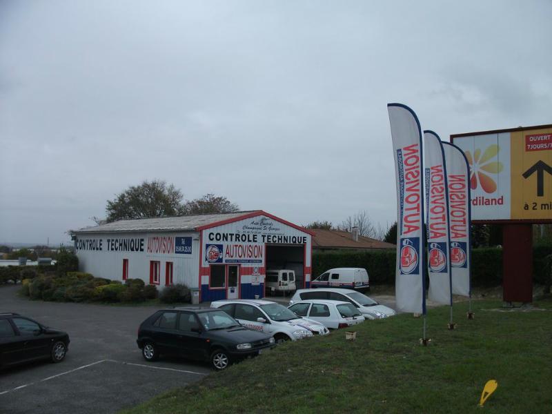 Photo du centre AUTO CONTRÔLE CHAMPAGNE ST GEORGES
