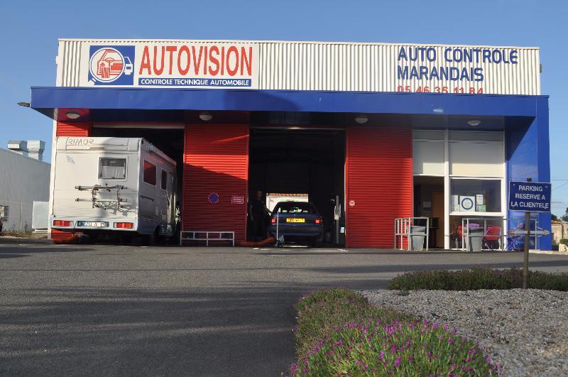 Photo du centre AUTO CONTROLE MARANDAIS