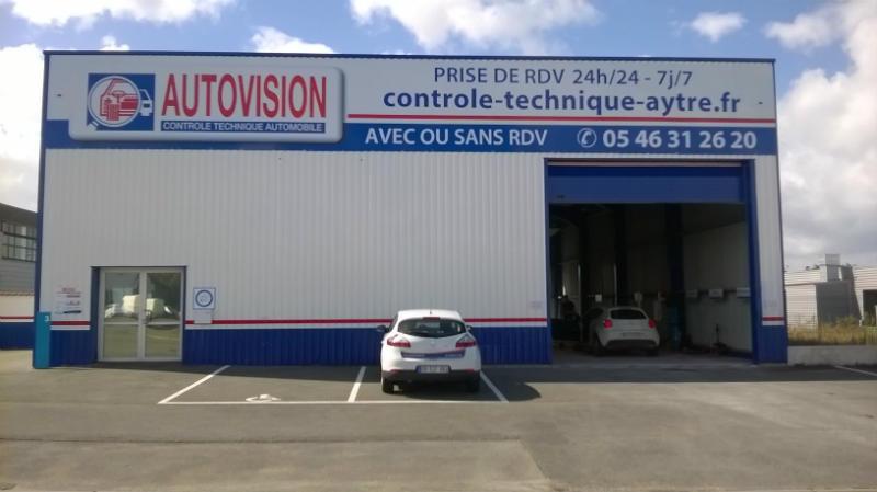 Photo du centre CABM AUTOVISION AYTRÉ