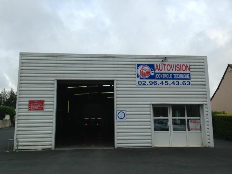 Photo du centre AUTOVISION BEGARD