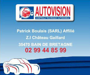 Photo du centre AUTOVISION SARL BOULAIS