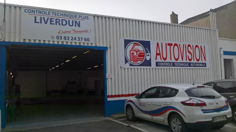Photo du centre CONTRÔLE TECHNIQUE PLUS DE LIVERDUN