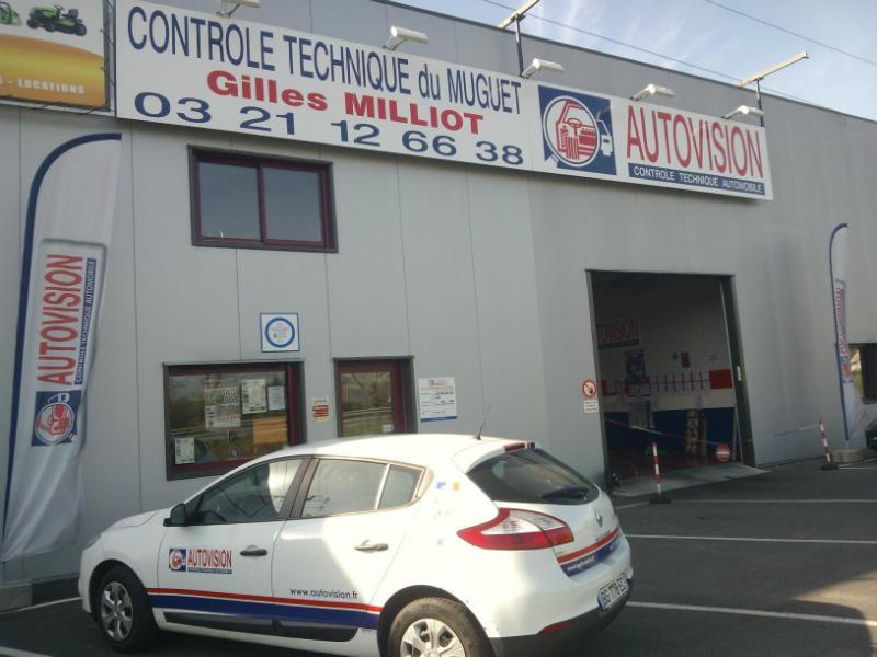 Photo du centre CONTROLE TECHNIQUE DU MUGUET