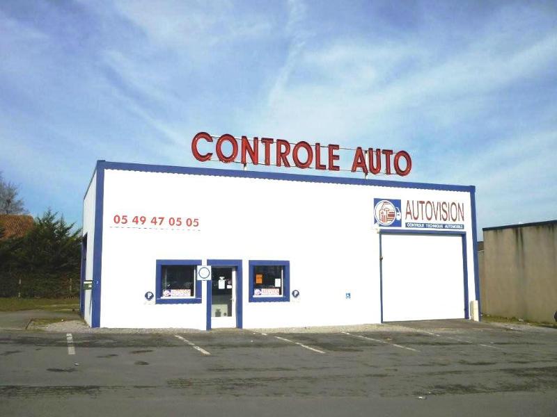Photo du centre CONTROLE TECHNIQUE 86 - SARL PBG