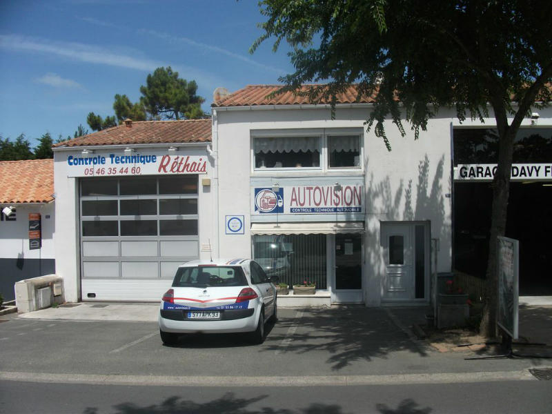 Photo du centre CONTRÔLE TECHNIQUE RETHAIS