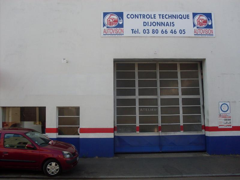 Photo du centre CABM CONTRÔLE TECHNIQUE DIJONNAIS