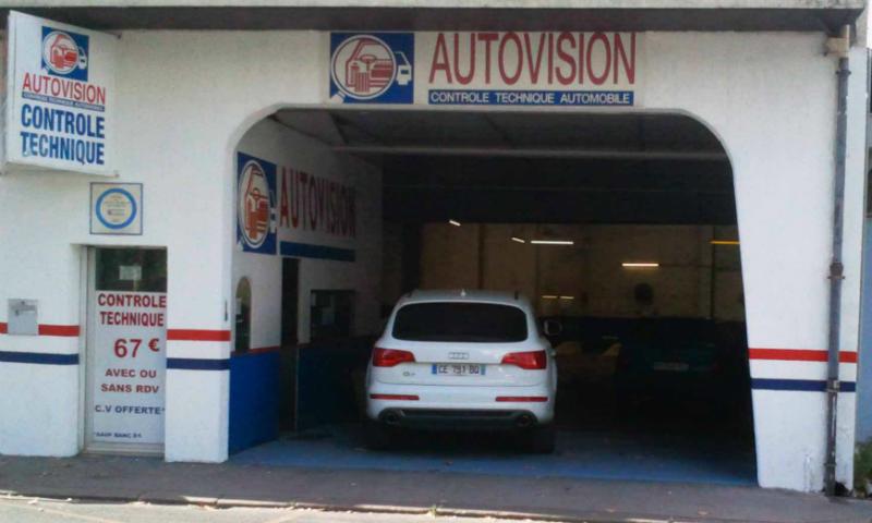 Photo du centre AUTOVISION BORDEAUX