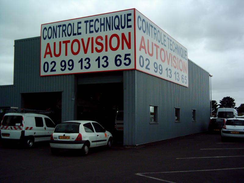 Photo du centre CONTRÔLE TECHNIQUE MONTGERVAL