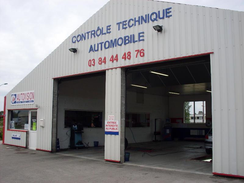 Photo du centre CONTROLE TECHNIQUE AUTOVISION