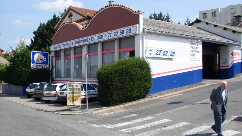 Photo du centre CONTRÔLE TECHNIQUE AUTOMOBILE DU GIER